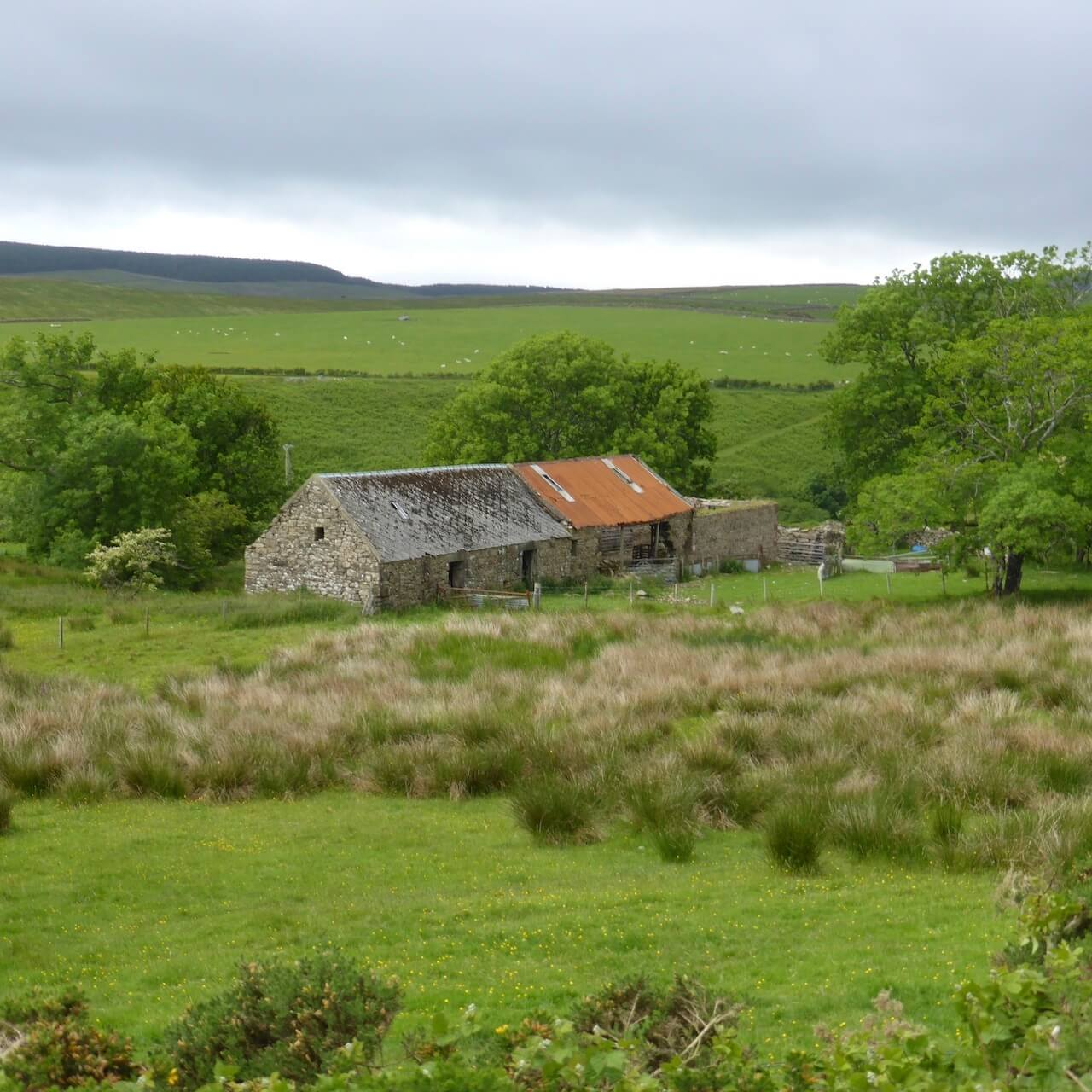 Farm along the Ross Road, Isle of Arran
