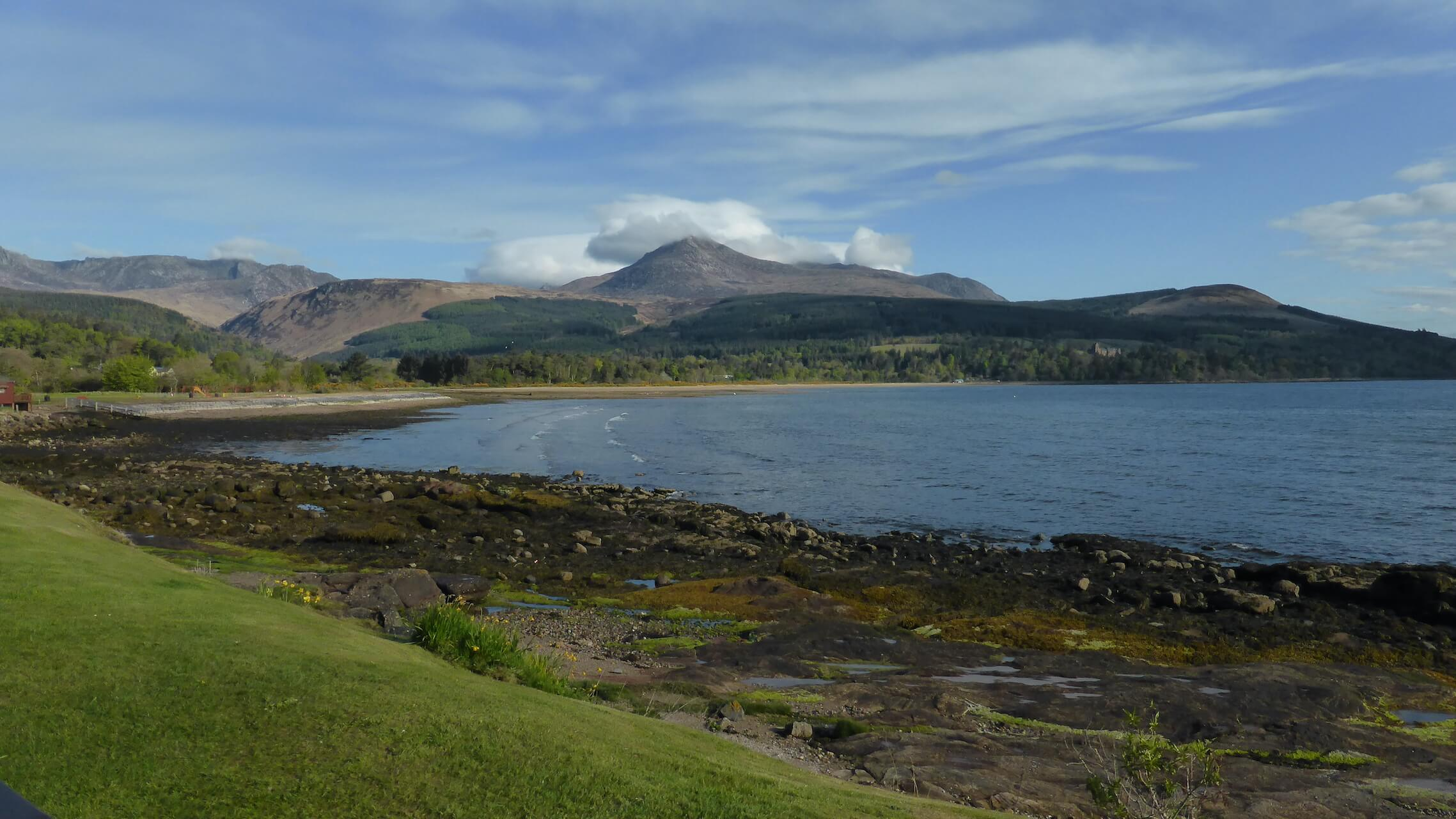 Goatfell from Brodick, Isle of Arran