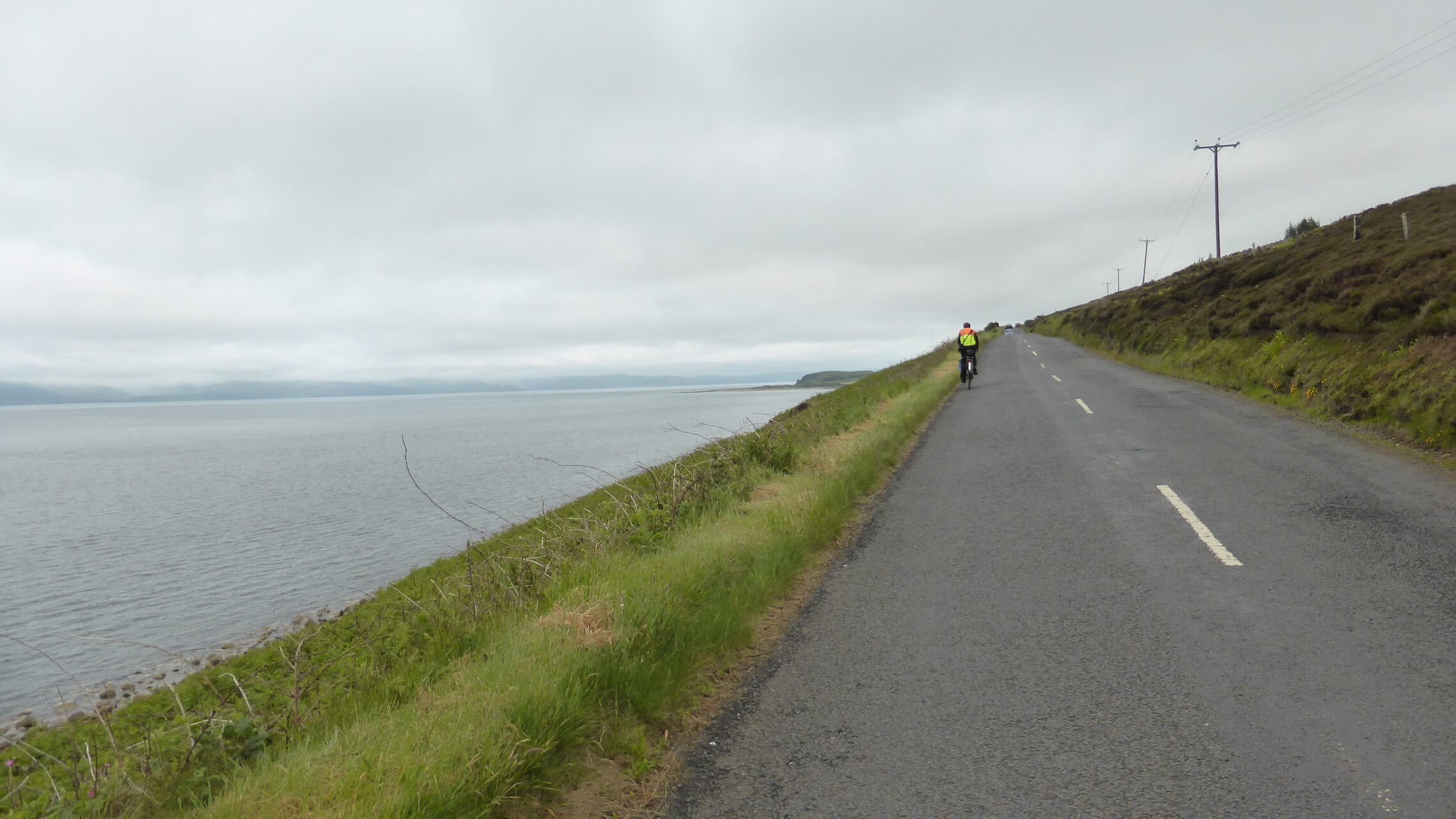 A841 below Blackwaterfoot, Isle of Arran