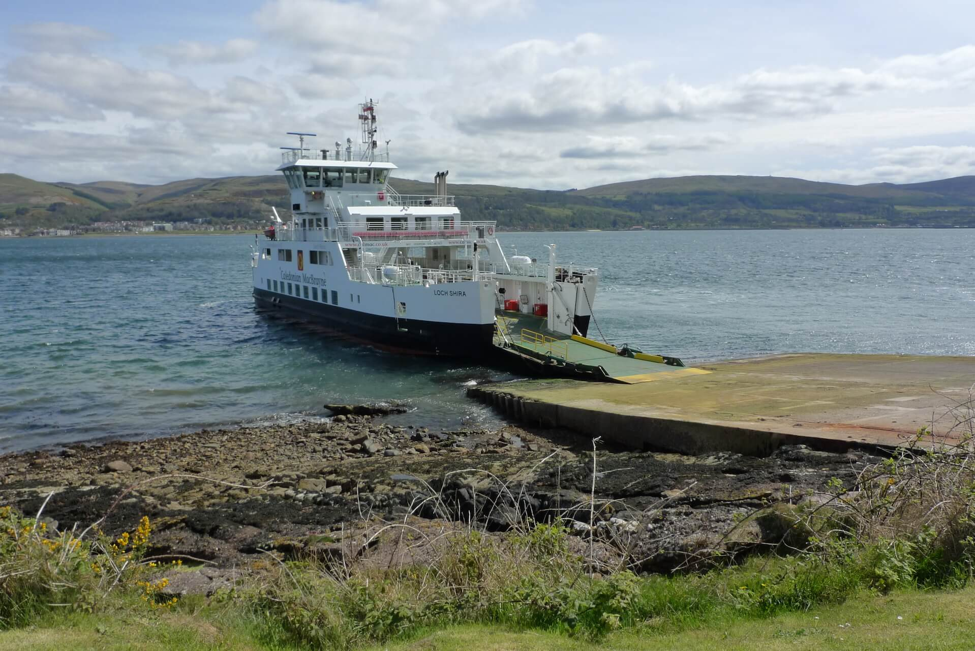 Loch Shira Ferry from Largs to Cumbrae