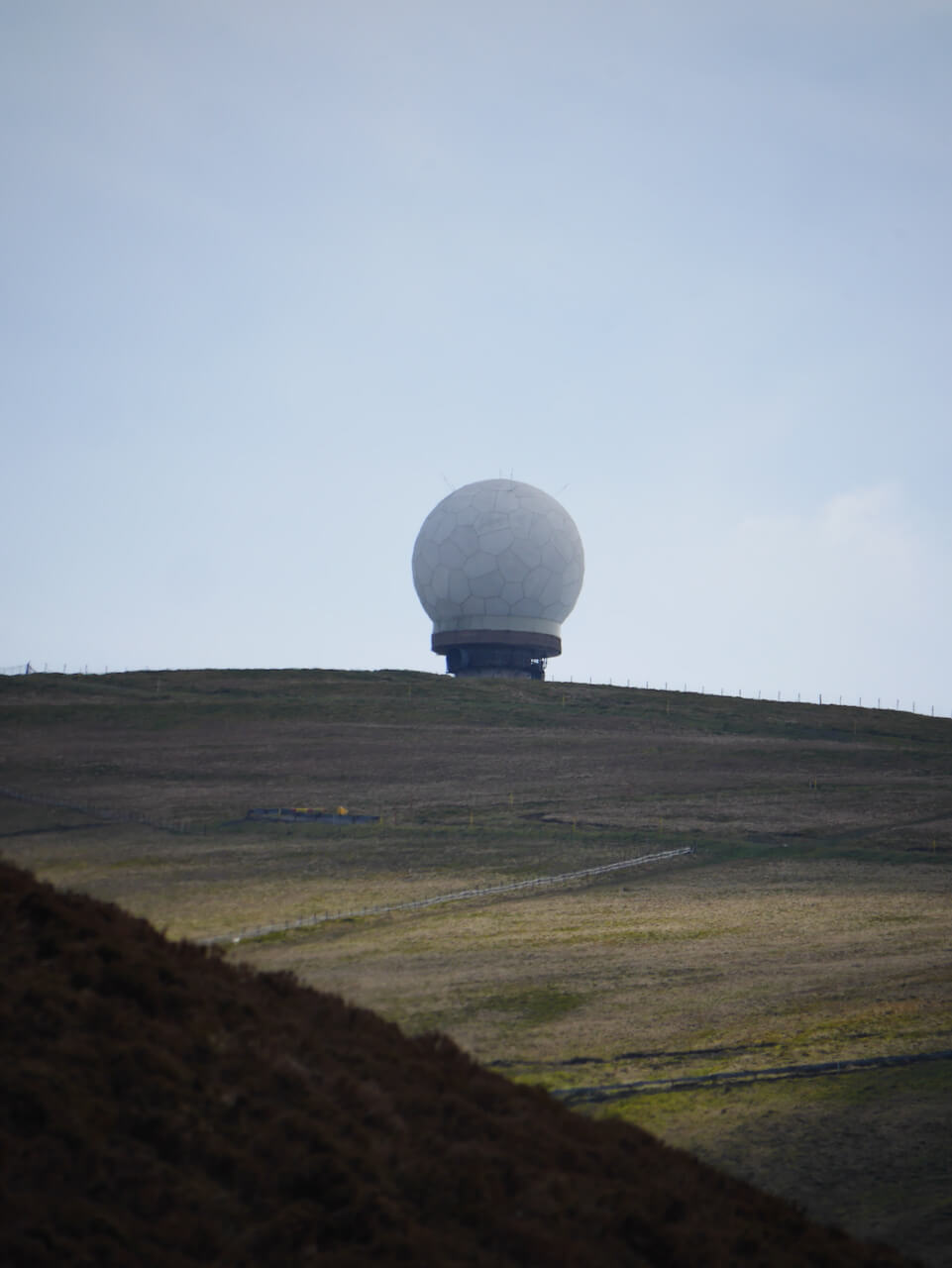 Lowther Hill National Air Traffic Services Radar Station