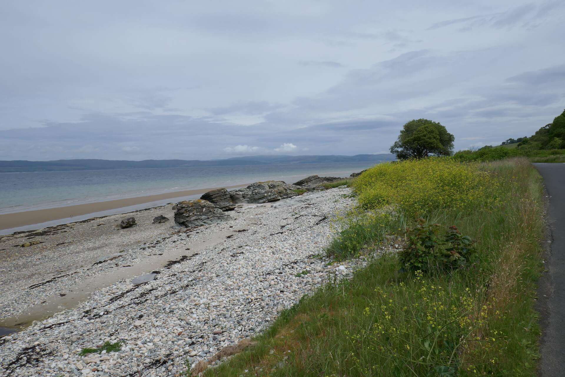 Along the A841, Isle of Arran